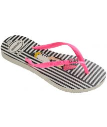 Tong - Havaianas Kids Disney Cool White/Shocking Pink