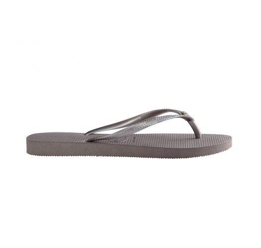 Klip Klap - Havaianas Slim Crystal Glamour Sw Steel Grey