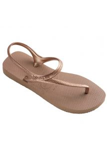 Флип флоп чехли - Havaianas Flash Urban Rose Gold