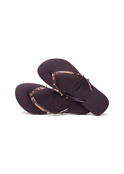 Sandaler - Havaianas Slim Hardware Aubergine/Aubergine