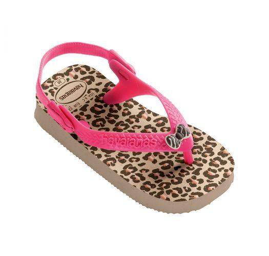 713ee25619b91 Sandals Flip-flops - Havaianas Baby Chic Sand Grey - Brand Havaianas