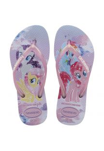 HAVAIANAS KIDS SLIM MY LITTLE PONY LAVANDA