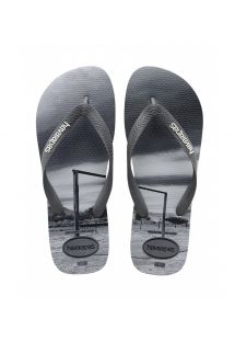 ビーチサンダル - Havaianas Hype Steel Grey/Black