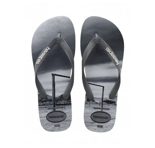Flip-Flops - Havaianas Hype Steel Grey/Black