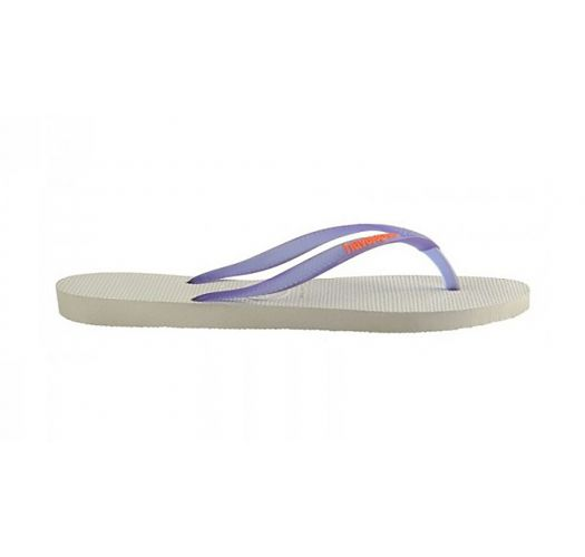 Havaianas Logo Pop Up White Purple