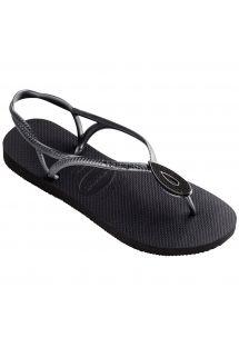 Slippers - Havaianas Luna Special Black