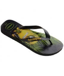 Black Flip Flops - Havaianas Minions Black