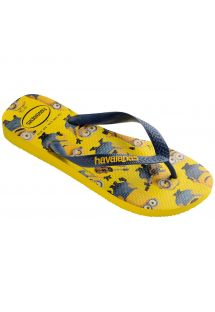 Slippers - Havaianas Minions Yellow/Navy Blue