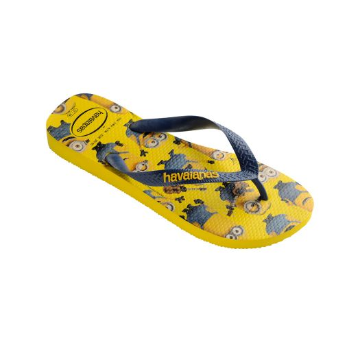 Flip-Flops - Havaianas Minions Yellow/Navy Blue