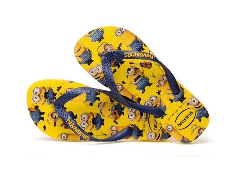 Zehentrenner - Havaianas Minions Yellow/Navy Blue