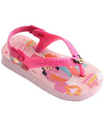 Flip-Flops - Havaianas Baby Mickey Minnie Crystal Rose