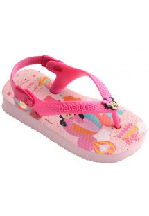 Klapki - Havaianas Baby Mickey Minnie Crystal Rose