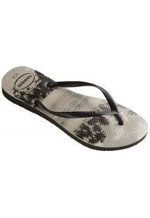 Chanclas - Havaianas Slim Photoprint Black