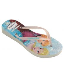 Tong - Havaianas Kids Slim Princess White