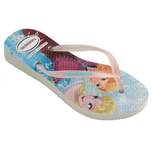 Flip-Flops - Havaianas Kids Slim Princess White