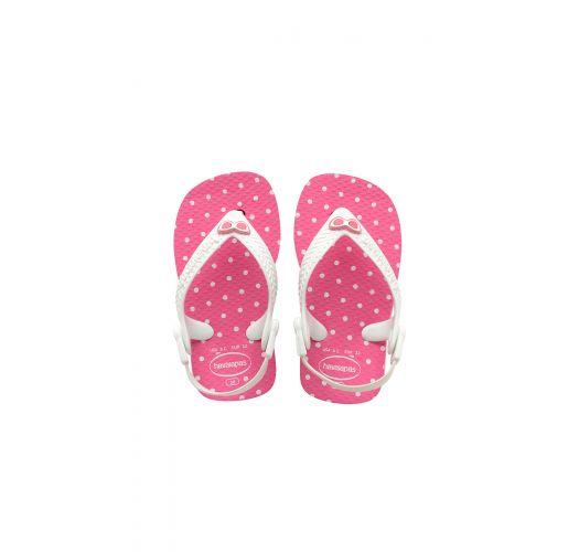 3ac47b7da6b8a Sandals Pink Flip Flops - Havaianas Baby Chic Shocking Pink white