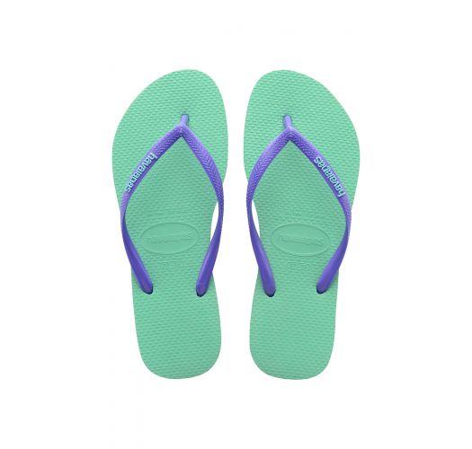 Japanke - Havaianas Slim Logo Light Green