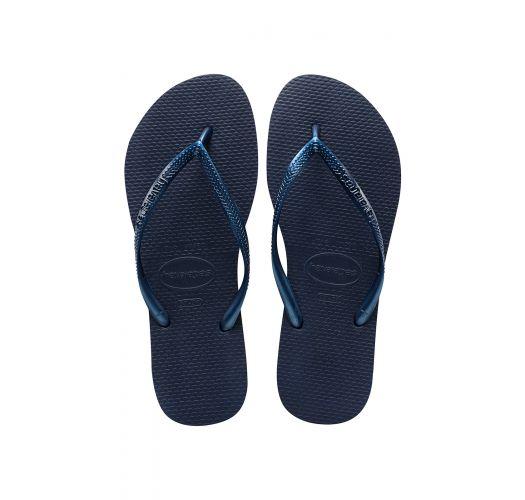 Tong - Havaianas Slim Navy Blue