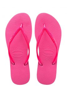 Tongs Havaianas rose vif - Slim Shocking Pink
