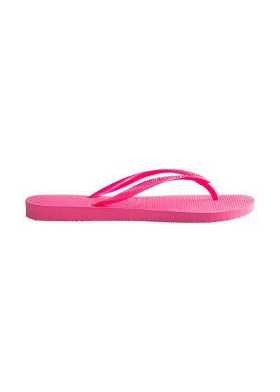 Ljusrosa Havaianas flip-flops - Slim Shocking Pink