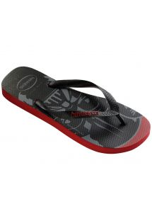 Chinelos - Havaianas Star Wars Red