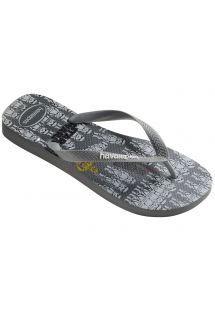 ビーチサンダル - Havaianas Star Wars Steel Grey