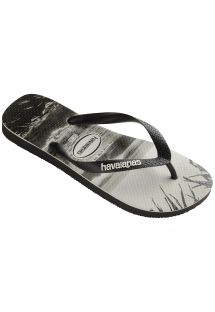 Slippers - Havaianas Top Photoprint Black