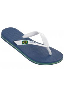 Chinelos - Ipanema Classica Brasil II Kids Blue/White
