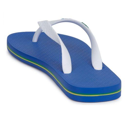 Flip-Flop - Ipanema Classica Brasil II Kids Blue/White