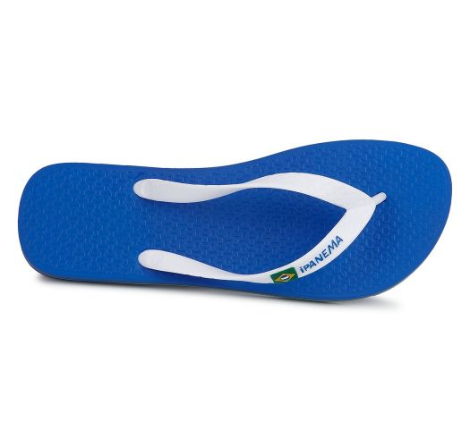 Flip-Flops - Ipanema Classica Brasil II Kids Blue/White