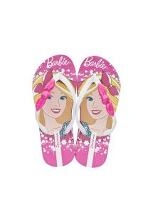 Slippers - Ipanema Barbie Style Pink/White