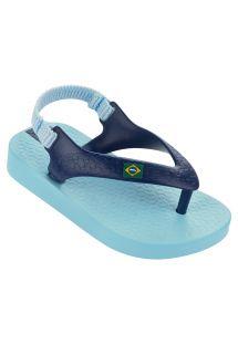 Blue flip flops - Ipanema Classic Brazil Baby Blue