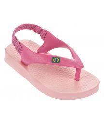 Pink flip flops - Ipanema Classic Brazil Baby Pink