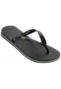 Slippers - Ipanema Classica Brasil II Kids Black