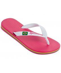 Tong - Ipanema Classica Brasil II Kids Pink/White