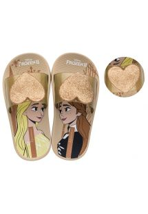 IPANEMA DISNEY BEAUTY SLIDE DOURADO