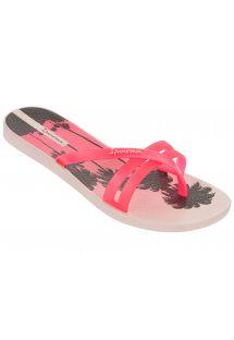 รองเท้าแตะ - Ipanema Flip Print Fem Pink/Pink