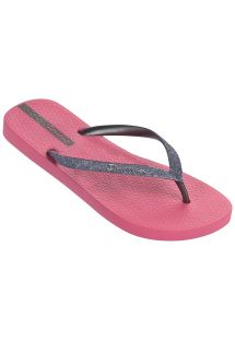 人字拖 Flip flops - Ipanema Lolita III Fem Pink/Silver