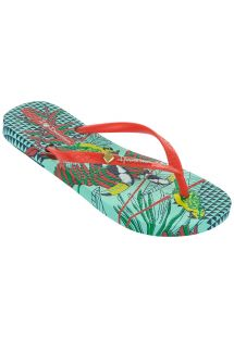 IPANEMA PARAISO FEM GREEN/RED