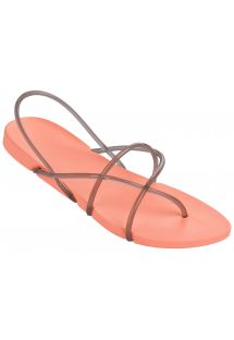 Chinelos - Ipanema Philippe Starck Thing G Fem Pink/Smoke