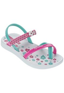 Klapki - Ipanema Fashion Sandal III Baby White/Pink/Blue