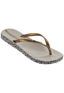 Slippers - Ipanema Anatomica Soft Fem Beige/Gold
