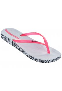 Slippers - Ipanema Anatomica Soft Fem White/Pink