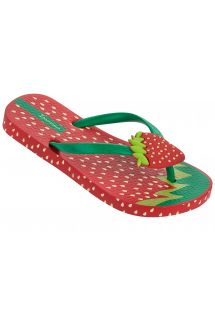 Flip flop - Ipanema Tutti Frutti Kids Red/Green