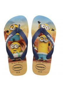 KIDS MINIONS BEIGE-NAVY BLUE
