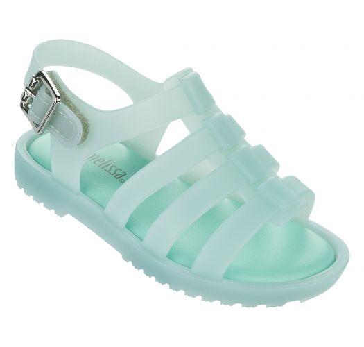 Flip-Flops - Baby Melissa Flox Green