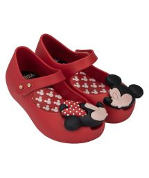 Flip-Flops - Baby Melissa Ultra Plus Disney Red
