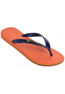 כפכפים - Ipanema Classica Brasil II Ad Orange/Blue