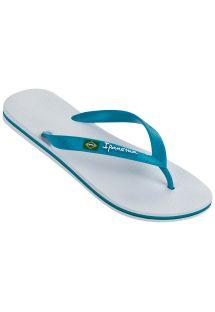 人字拖 Flip flops - Ipanema Classica Brasil II Ad White/Blue
