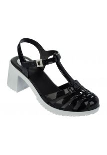 Slippers - Dream II Sandal Fem Black/White